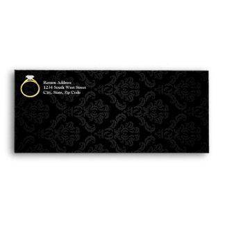 Diamond Solitaire Ring Envelopes