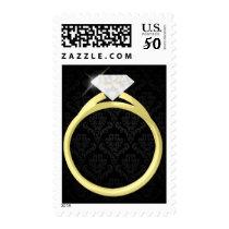 Diamond Solitaire Ring Postage