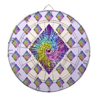 DIAMOND Sparkle Pattern Dart Board