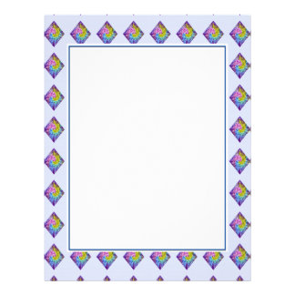 DIAMOND Sparkle Pattern Letterhead