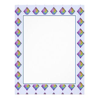 DIAMOND Sparkle Pattern Letterhead
