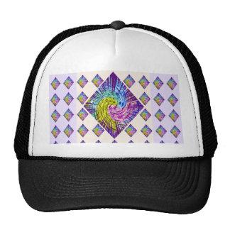 DIAMOND Sparkle Pattern Trucker Hat