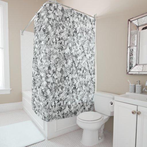 diamond sparkle shower curtain zazzle