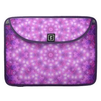 Diamond Star Flower Mandala Sleeve For MacBooks