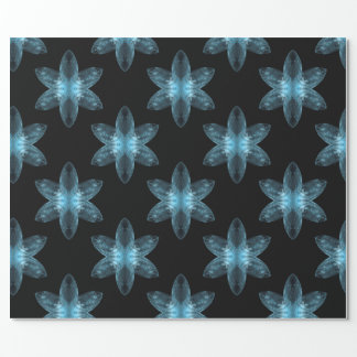 Diamond Star, ice blue. Wrapping Paper