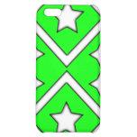 Diamond Star Iphone 4 Case Green