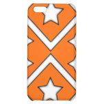 Diamond Star Iphone 4 Case Orange
