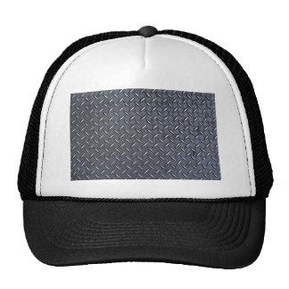 Diamond Steel Plate Trucker Hat