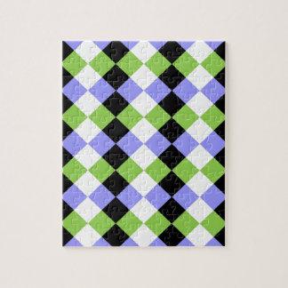 Diamond Strips Jigsaw Puzzle