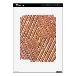 Diamond texture iPad 3 decal