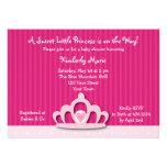 Diamond Tiara Princess Baby Shower Invitation