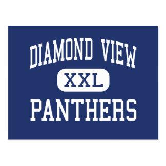 Diamond View Panthers Middle Susanville Postcard