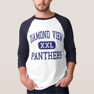 Diamond View Panthers Middle Susanville Tee Shirt