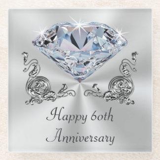 Diamond Wedding Anniversary Presents, Coasters