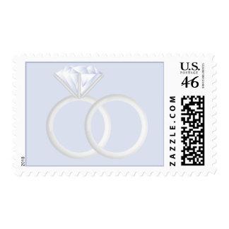 Diamond Wedding Rings Stamp