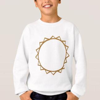Diamond Wheel Circles : Add Text or Image Template Sweatshirt
