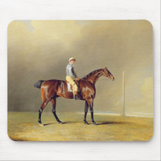 Diamond, with Dennis Fitzpatrick Up, 1799 (oil on Mouse Pad