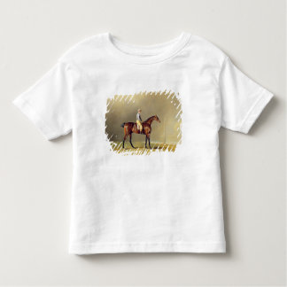 Diamond, with Dennis Fitzpatrick Up, 1799 (oil on Toddler T-shirt