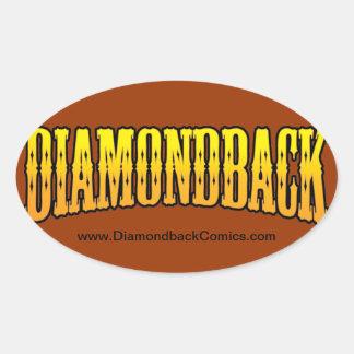 Diamondback Comics Stickers
