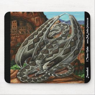 Diamondback Dragon Mousepad