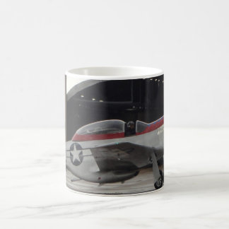 Diamondback P-51 Mustang Classic White Coffee Mug