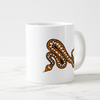 Diamondback Snake Large Coffee Mug