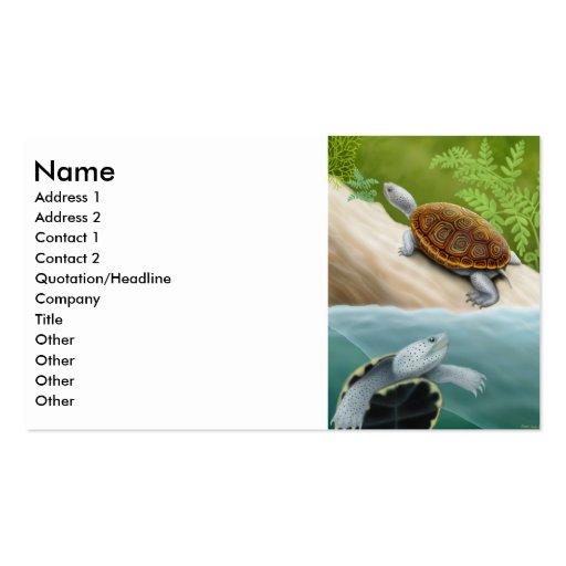 Diamondback Terrapin Business Card