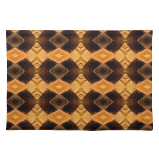 Diamondback Weave Pattern Cloth Placemats