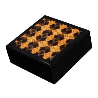 Diamondback Weave Pattern Trinket Boxes