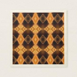 Diamondback Weave Pattern Paper Napkin