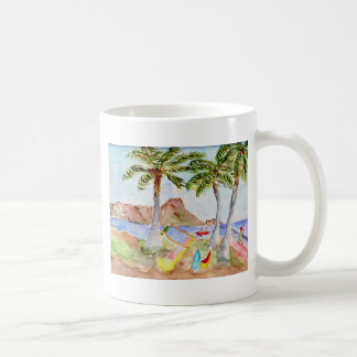Diamondhead Daze Classic White Coffee Mug