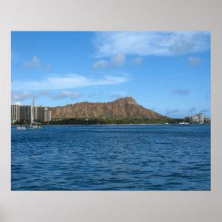 Diamondhead Oahu Hawaii Impresiones