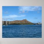 Diamondhead Oahu Hawaii Poster