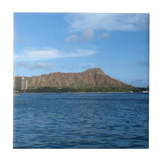 Diamondhead Oahu Hawaii Ceramic Tiles