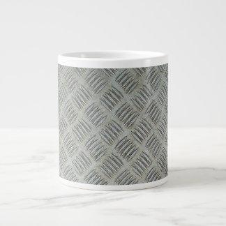 Diamondplated modeló el panel de la textura del me taza grande