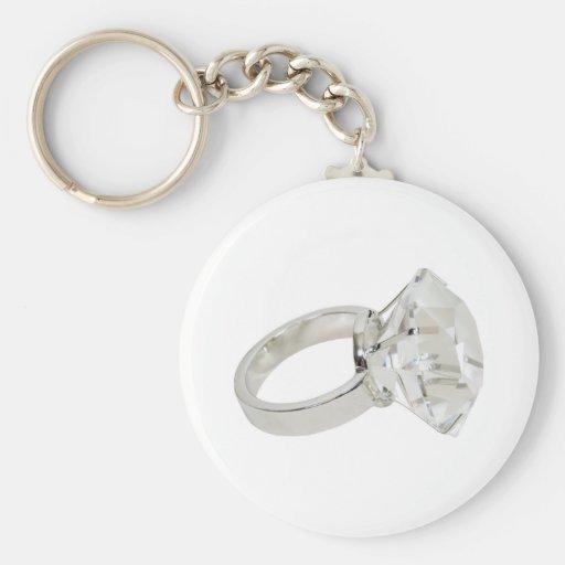 DiamondRing081309 Key Chain