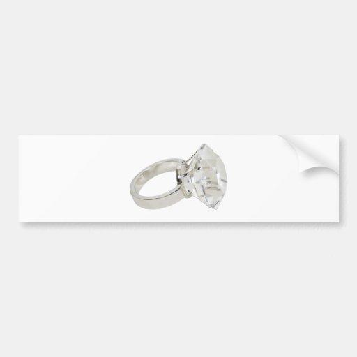 DiamondRing081309 Pegatina De Parachoque