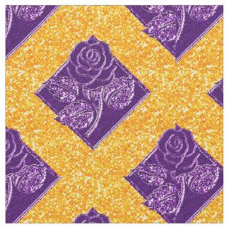 Diamonds-09 color de rosa tela púrpura y del telas