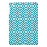Diamonds and Chevrons - Turquoise iPad Mini Covers