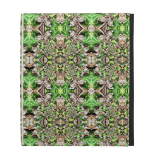 Diamonds and Clover Pattern iPad Case