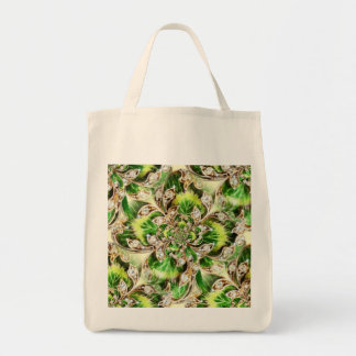 Diamonds and Clover Rosette Tote Bags