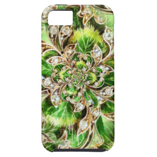 Diamonds and Clover Rosette iPhone 5 Cover