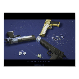 Diamonds and Guns Poster