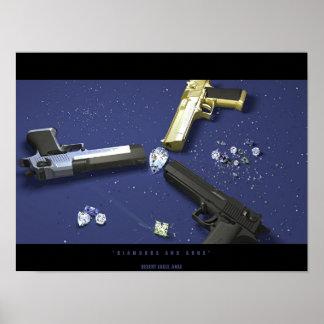 Diamonds and Guns Posters