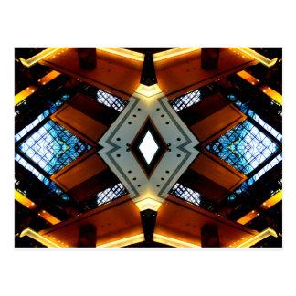 Diamonds and Lights Urban Futurism CricketDiane Postcard