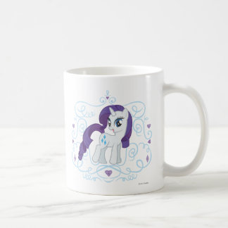 Diamonds and Swirls Classic White Coffee Mug