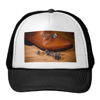 Diamonds Are A Cowgirl's Best Friend Western Boot Hats