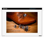 """Diamonds Are A Cowgirl's Best Friend Western Boot Skins For 15"""" Laptops"""