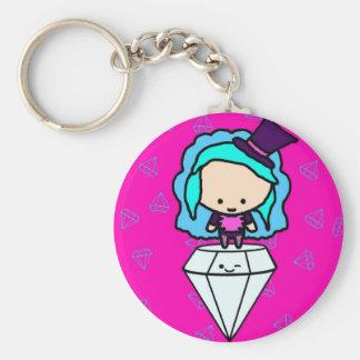 Diamonds are a girl s best friends kawaii kids keychains