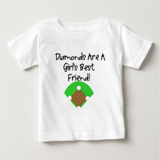 Diamonds are a Girl's Best Friend! Baby T-Shirt